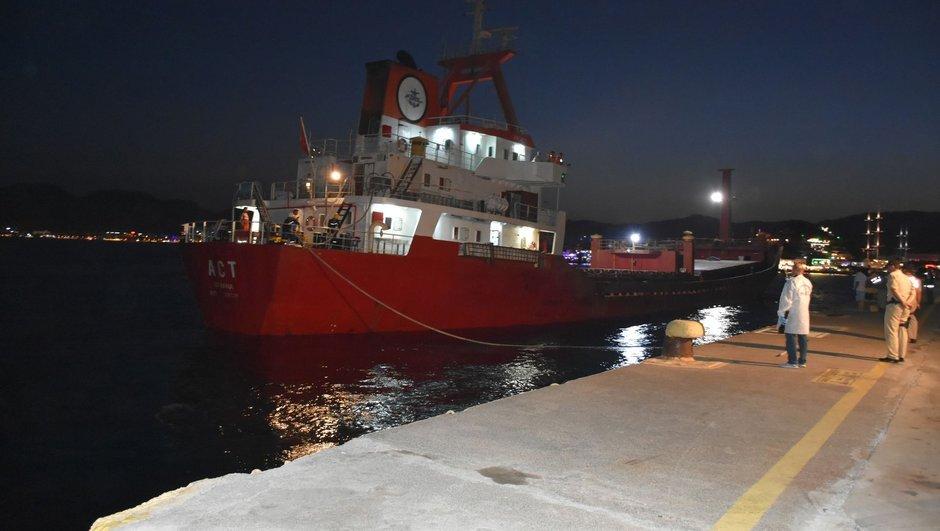 Yunan botları Türk gemisine ateş açtı