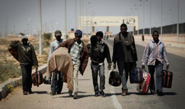 Libya'da Mısırlı 48 mülteci ölü bulundu