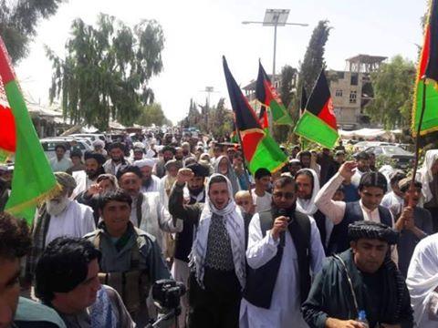 Afganistan halkı İran Cumhurbaşkanı Ruhani'yi protesto etti