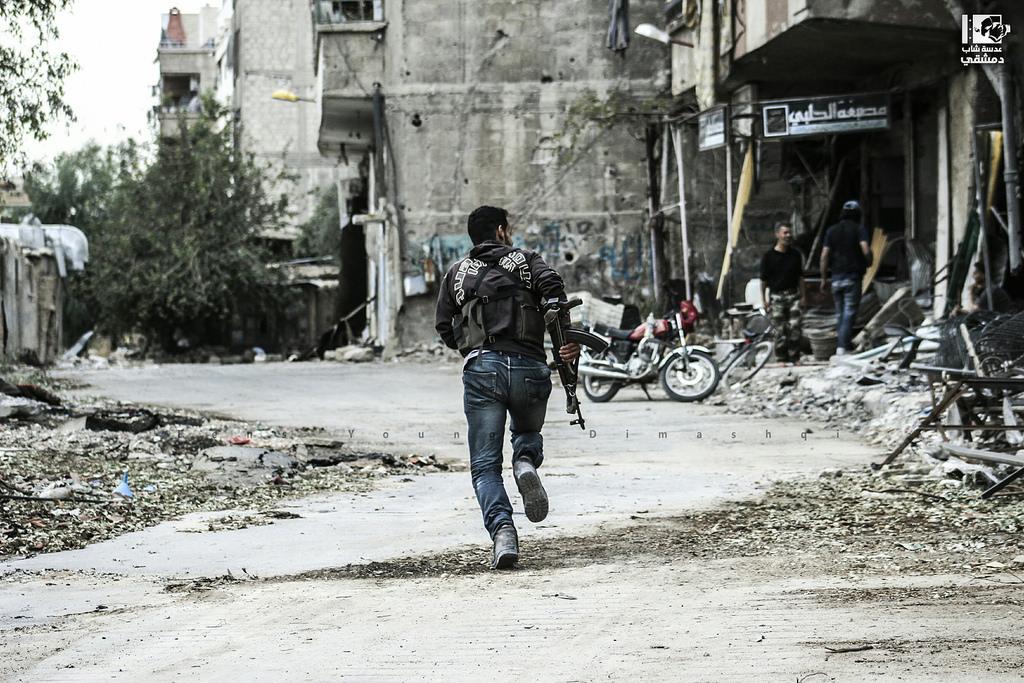Muhalifler Şam'daki son kalesini savunuyor: Beşinci senesine yaklaşan 'Cobar direnişi'