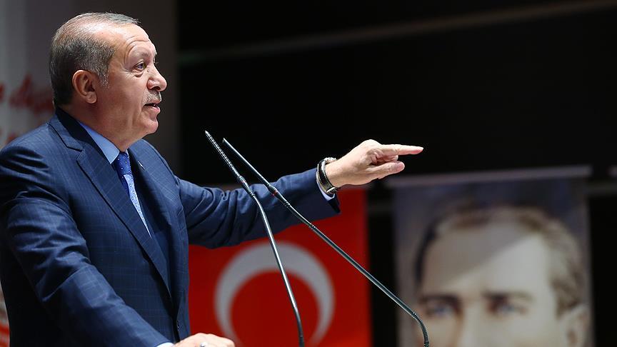 Erdoğan: Adalet sokaklarda aranmaz, bunun sonu vandallıktır