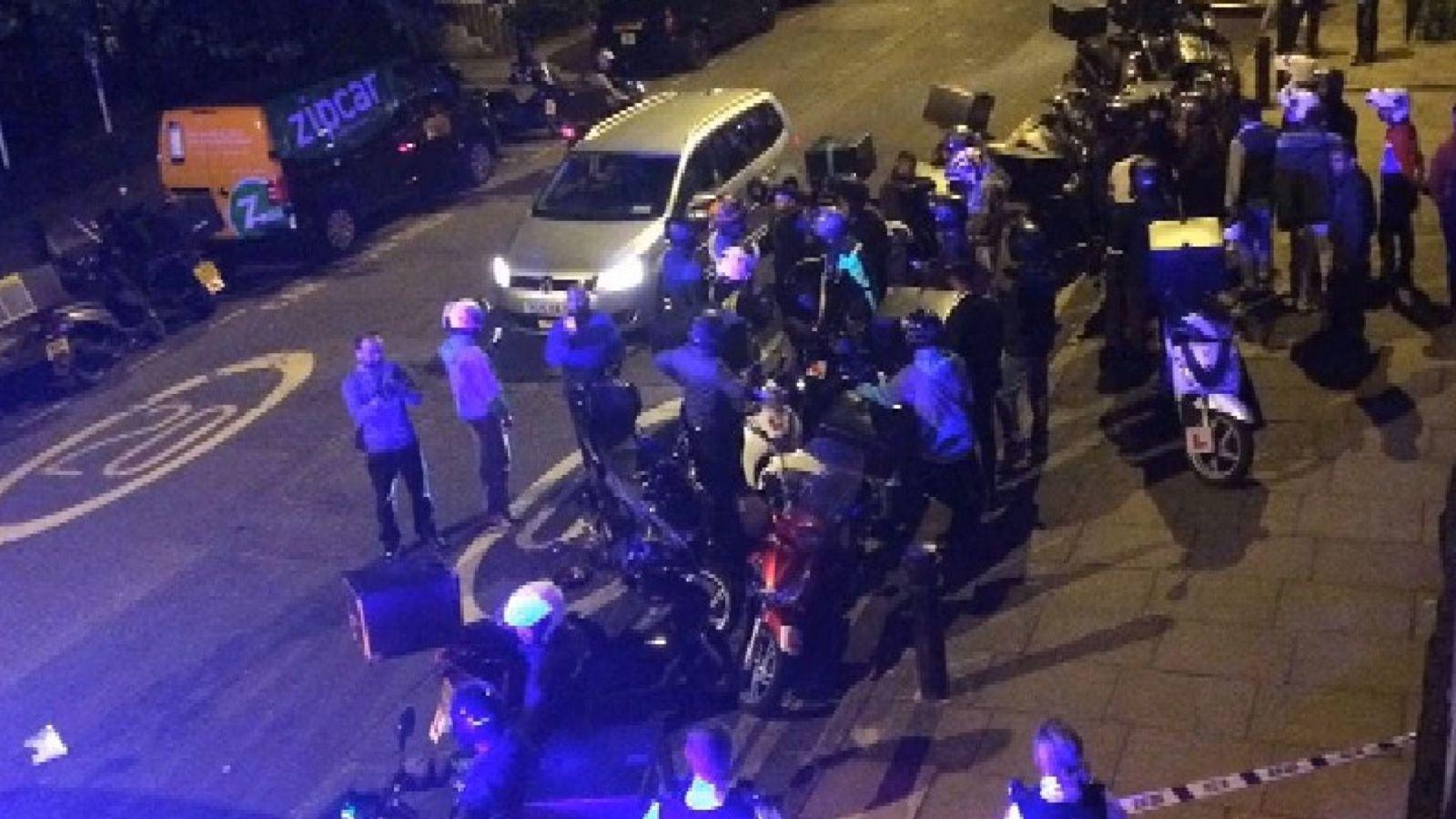 Londra'da 5 ayrı noktada asitli saldırı