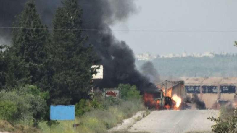 Tahriru'ş Şam Lazkiye'de rejimi vurdu: Limandaki askeri noktalar hedef oldu