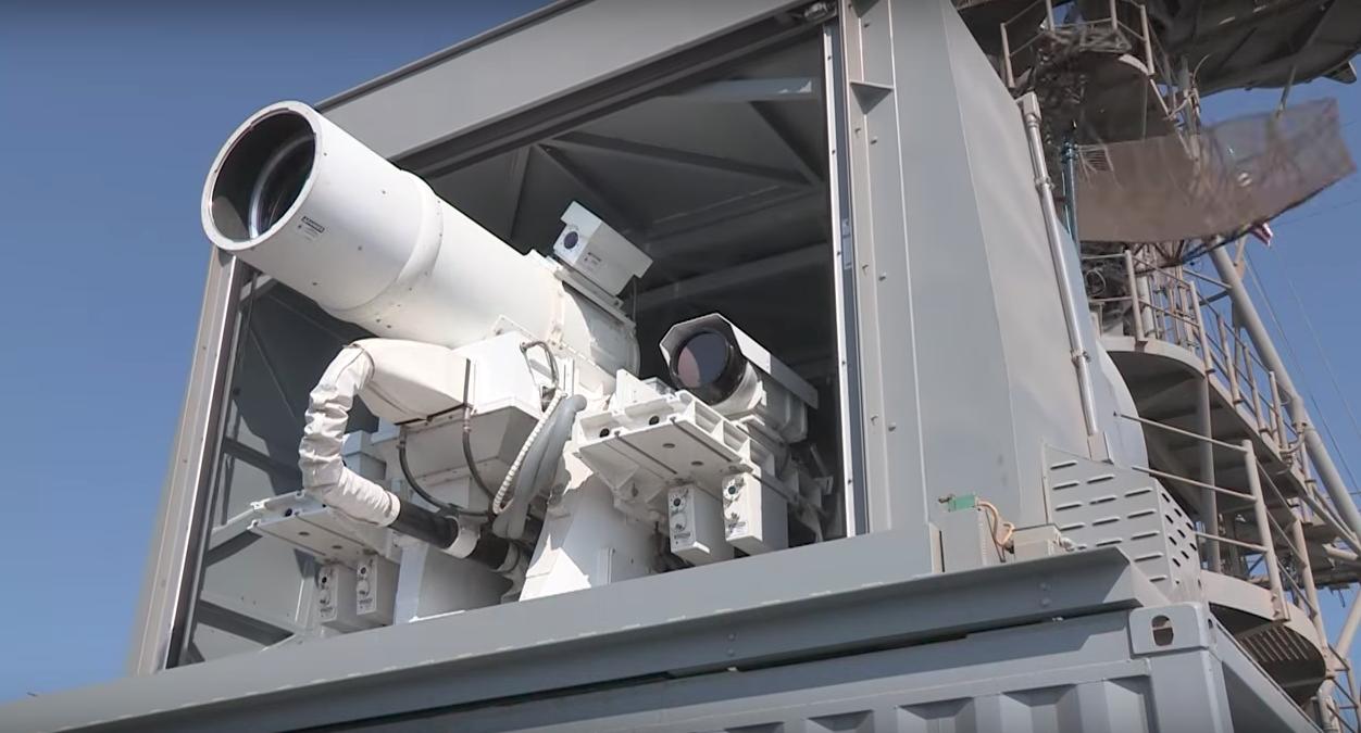 ABD lazer silahını test etti