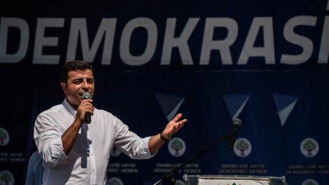 Demirtaş: Yargı, AKP'nin kontrolü ve baskısı altında