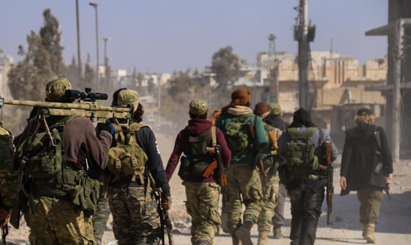 Ahraru'ş Şam Babu'l Hava'daki güçlerini Cerablus'a çekti