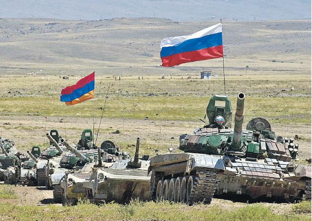 Rusya-Ermenistan ortak ordusu kuruluyor