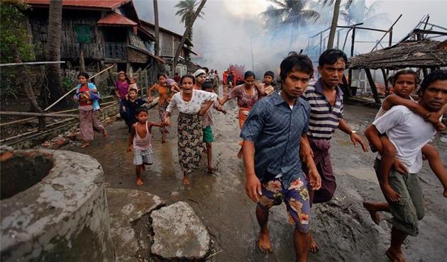 Myanmar hükümeti: Arakan'da soykırım yapmıyoruz