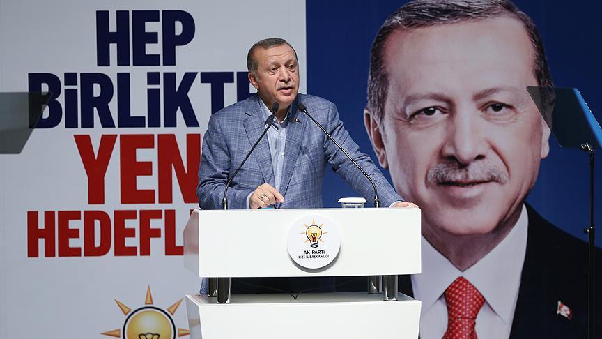Erdoğan: Teşkilatlarımızda kapsamlı bir değişim yapmak durumundayız