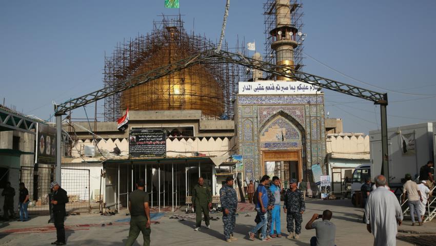 Sadr cephesinden şok iddia: İran, mezhep savaşı çıkarmak için Şii türbesine saldırdı