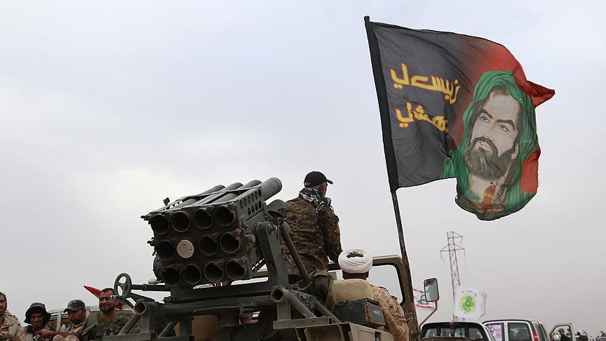 Haşdi Şaabi milisleri Türkmen kenti Telafer'i kuşattı