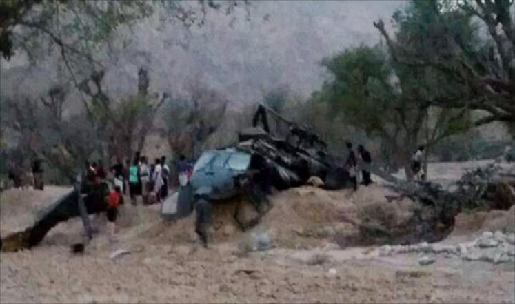 Yemen'de BAE helikopteri El Kaide'ye düzenlenen operasyonda düştü