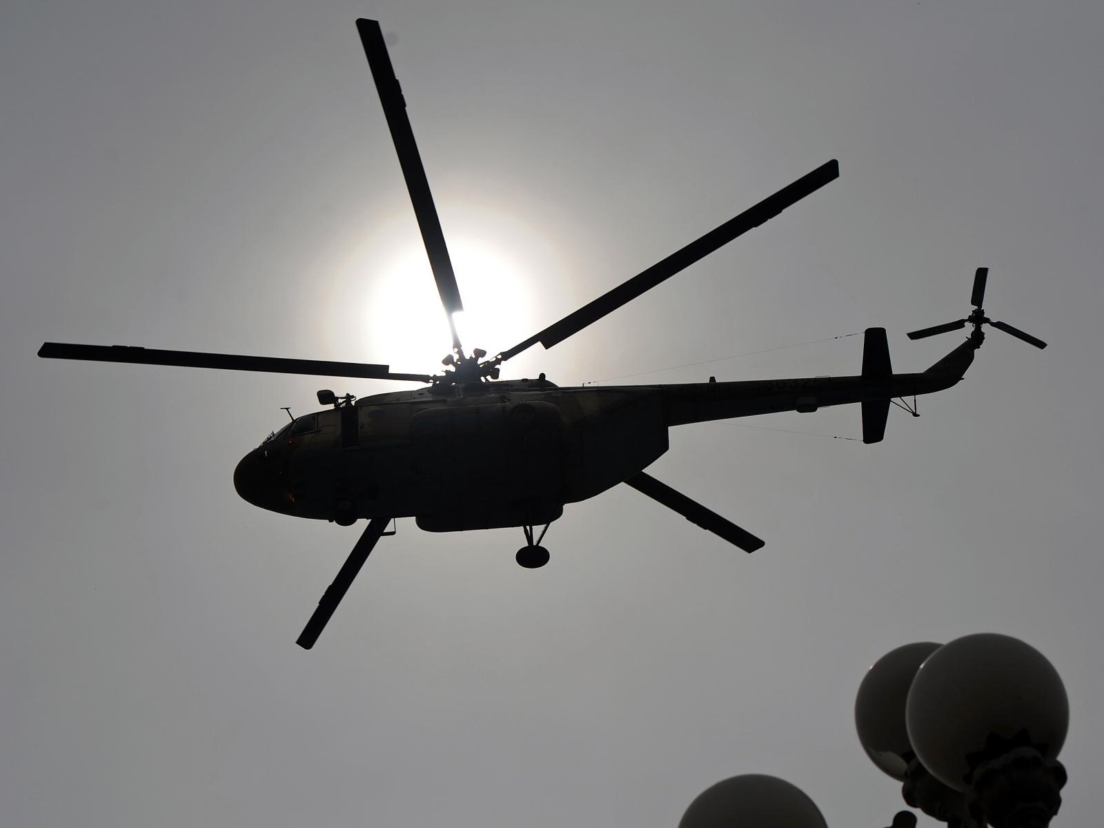 ABD'de OHAL ilan edilen bölgede helikopter düştü