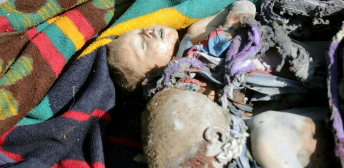 ABD Türkmen kenti Telafer'de katliam yaptı