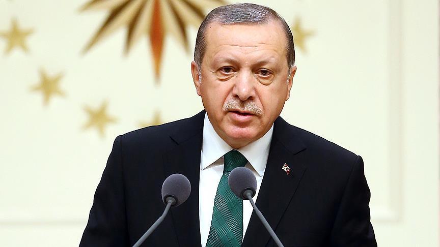 Cumhurbaşkanı Erdoğan'dan İspanya Kralı'na taziye mesajı