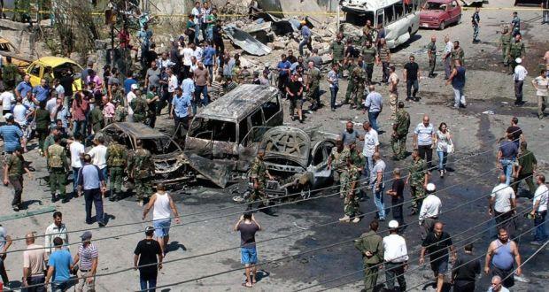 Rejimin kalesi Lazkiye'de bombalı araç saldırısı
