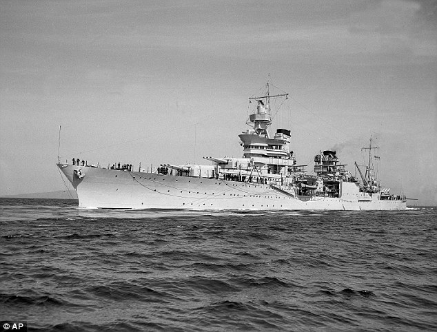 Japonya'nın batırdığı ABD savaş gemisine ulaşıldı