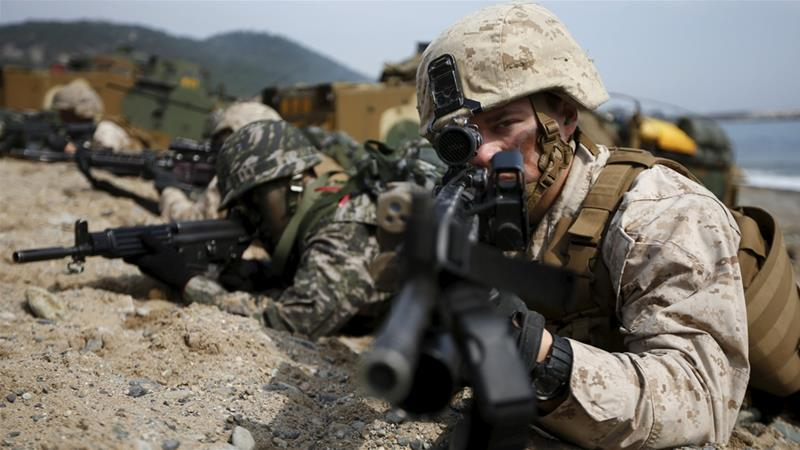 ABD-Güney Kore tatbikata başladı: Gerçek çatışmaya dönüşebilir
