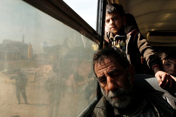 30 bin sivil Telafer'den kaçtı