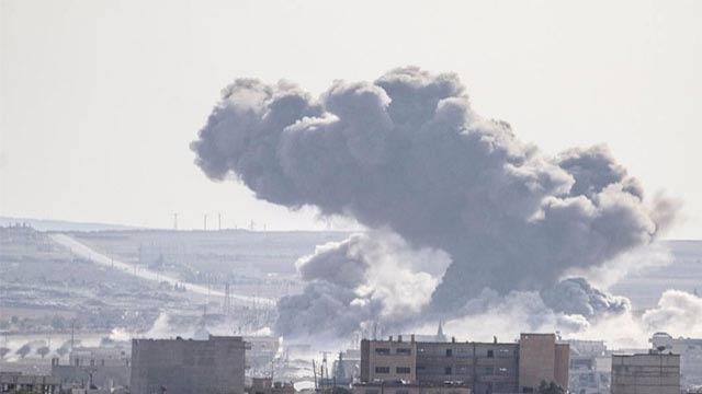 ABD uçakları Haseke'de bir camiyi vurdu