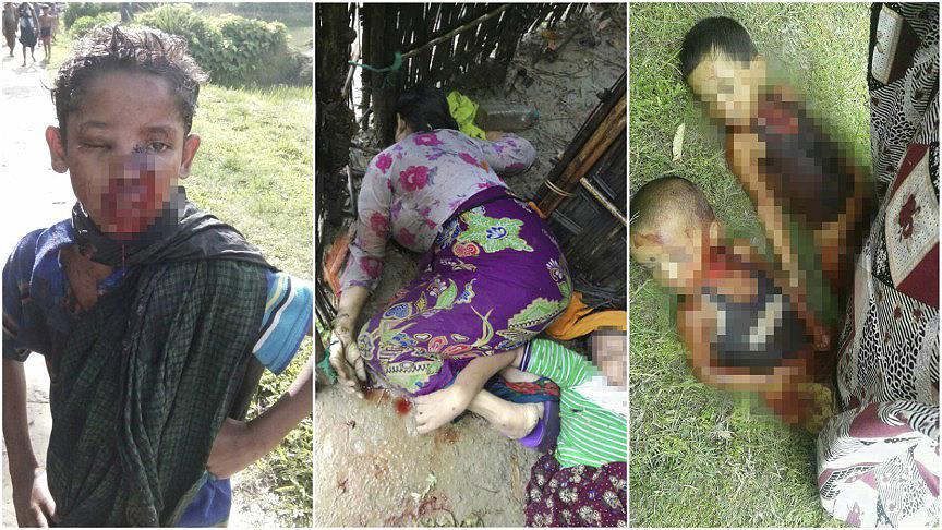 İslam ülkeleri sessiz: Arakan'da 3 günde 2 ila 3 bin arası Müslüman katledildi