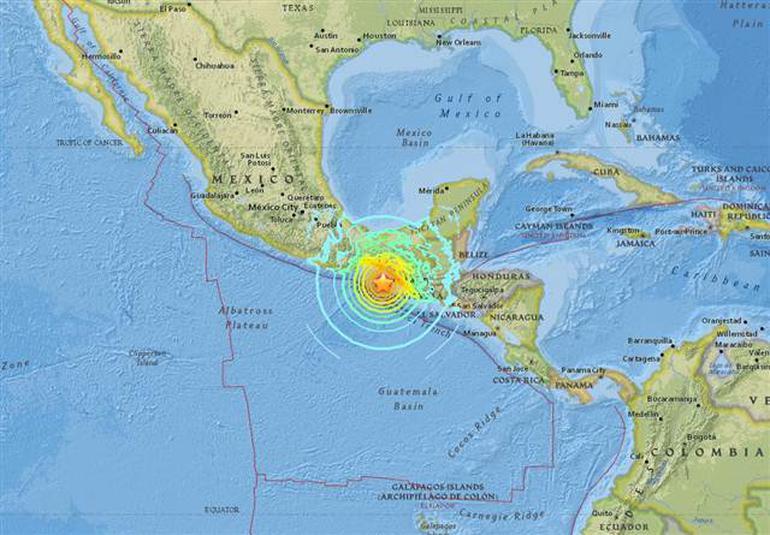 Meksika'da 8.1 büyüklüğünde deprem: Altı ülke sallandı
