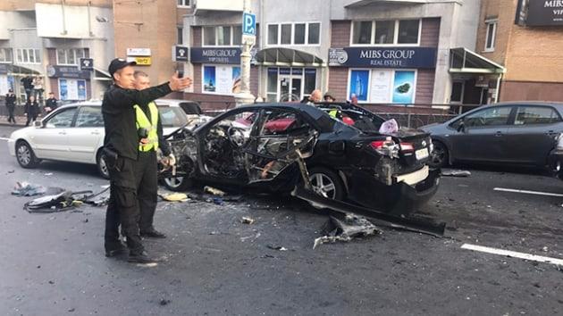 Ukrayna'nın başkenti Kiev'de patlama: Yaralılar var