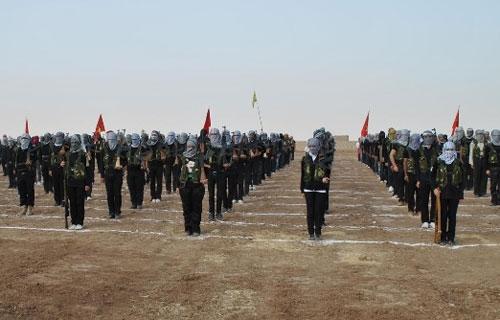 PKK'dan Afrin'de güç gösterisi
