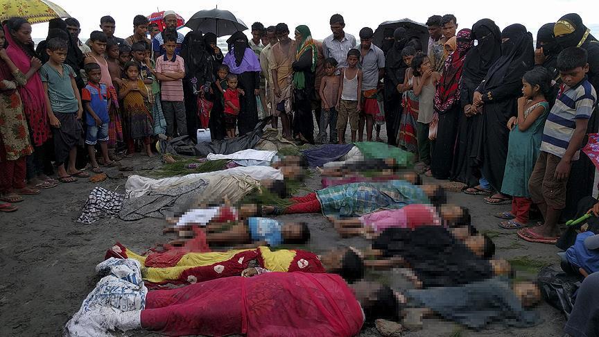 'Arakan'da en az 3 bin Müslüman öldürüldü'