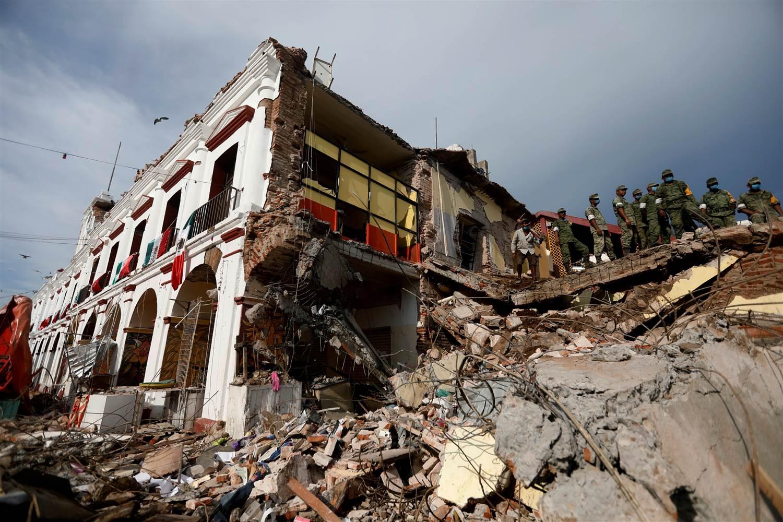 Meksika'da 85 yılın en büyük depremi: Ölü sayısı 90'a ulaştı
