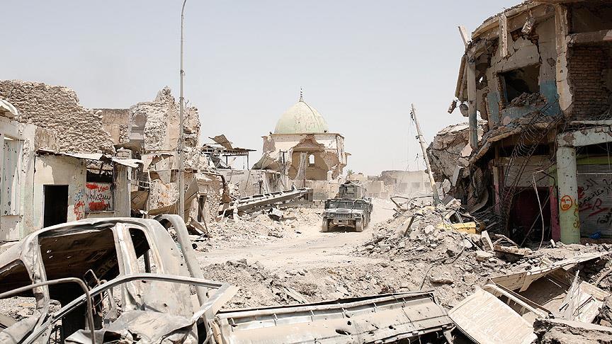 Musul'da enkazların altı sivil dolu: 2650 ceset çıkarıldı