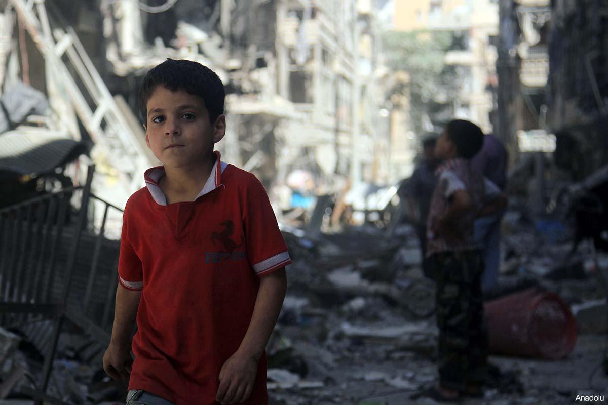 Ortadoğu'da beş çocuktan biri acil yardıma muhtaç