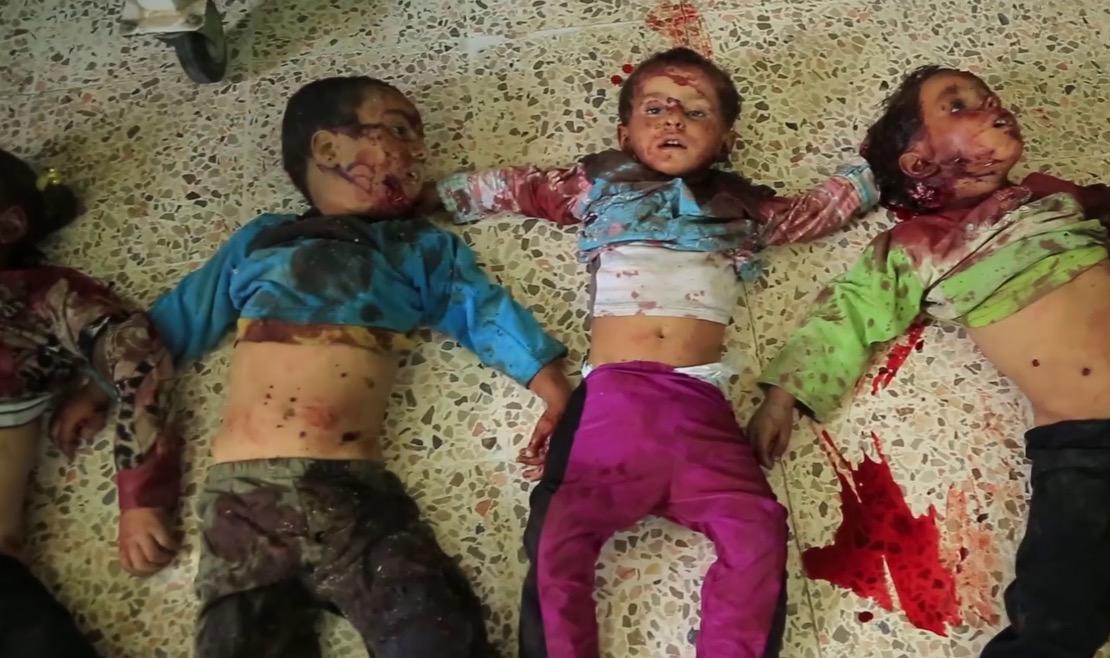 Youtube'un örtbas etmek istediği görüntüler: ABD, Deyr ez Zor'da 100 çocuğu öldürdü