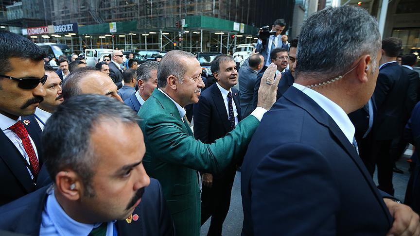 Erdoğan'ın 5 günlük ABD ziyareti başladı