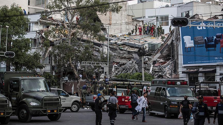 Meksika'da ölü sayısı 248'e yükseldi