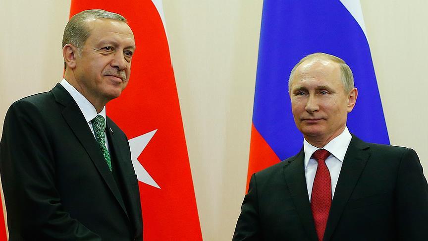 Erdoğan: Putin ile Suriye'de olan biteni konuşacağız