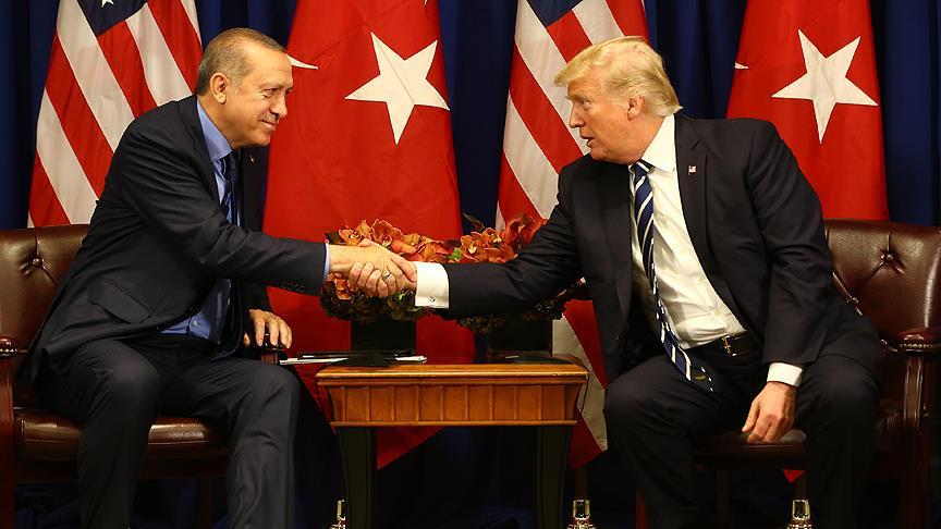 ABD Başkanı Trump: Erdoğan dünyanın zor bir bölgesinde çalışıyor