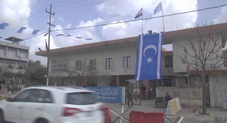 Kerkük'te Türkmen Esnaflar Birliği'ne roketli saldırı