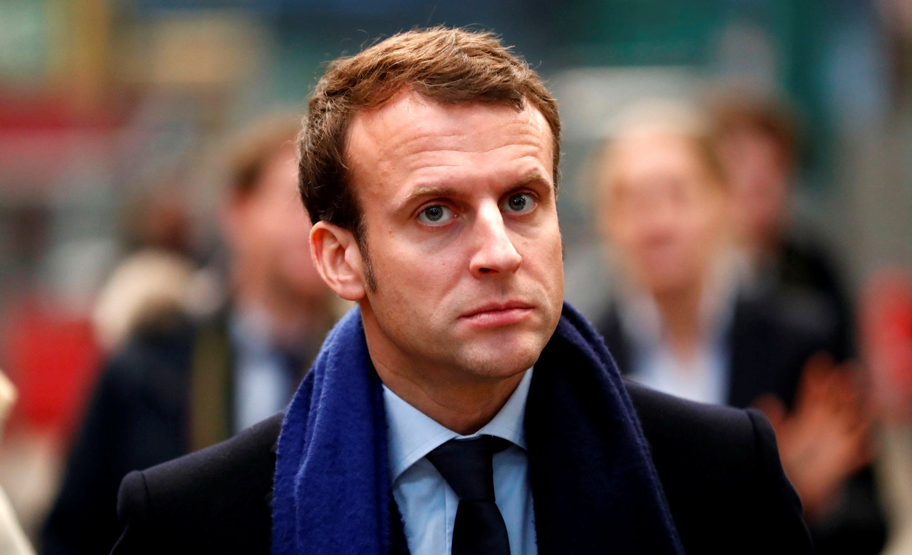Macron'dan Irak diplomasisi: 'Gerilimi azaltın'