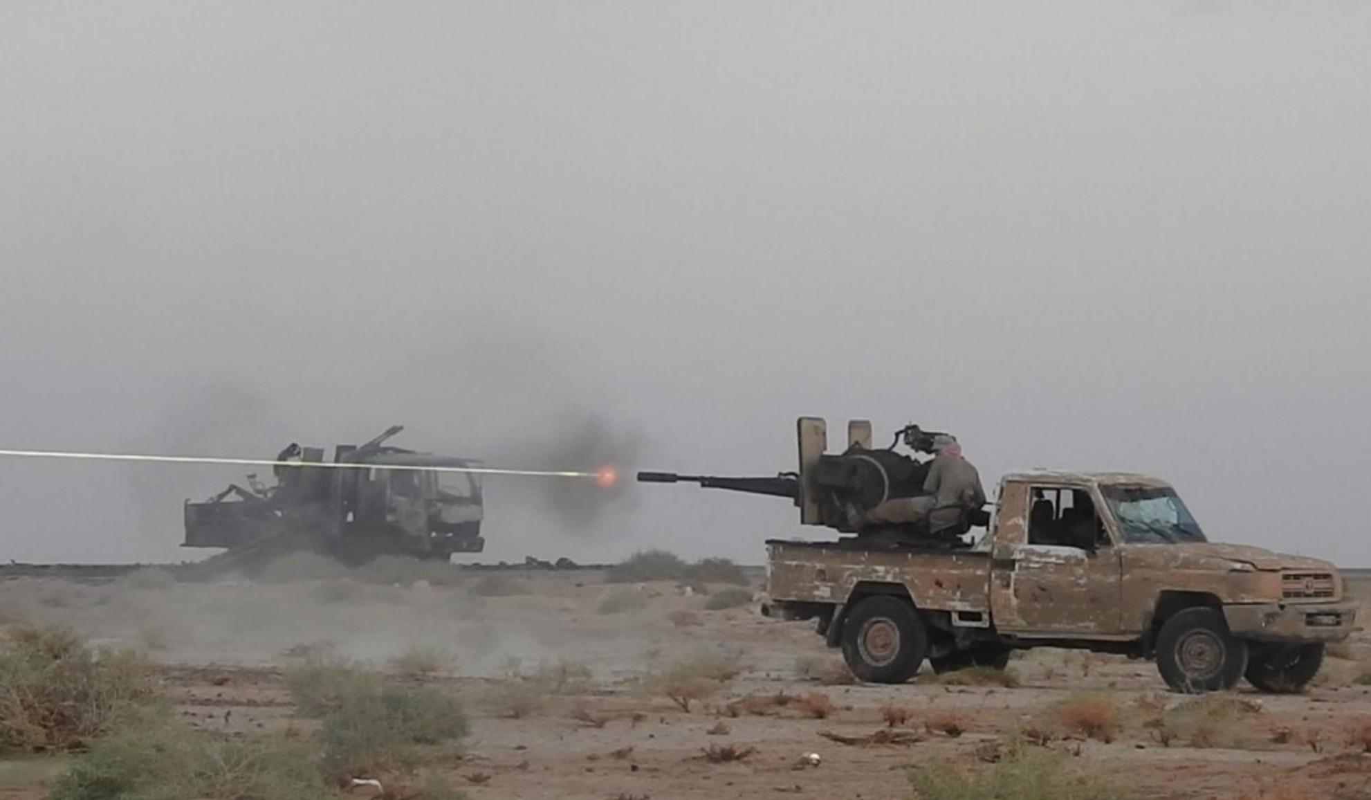 Rejim güçleri Humus'ta IŞİD'e karşı büyük kayıp verdi