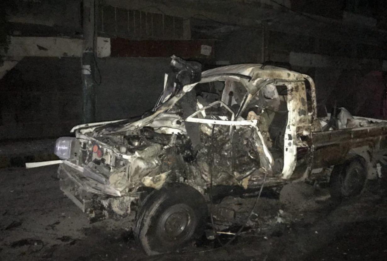 İdlib'te IŞİD saldırıları: HTŞ aracı canlı bomba ile hedef alındı
