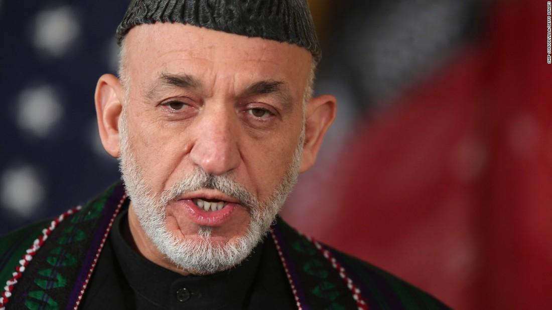 Afganistan Eski Devlet Başkanı Karzai'den ABD'nin sivil katliamına kınama