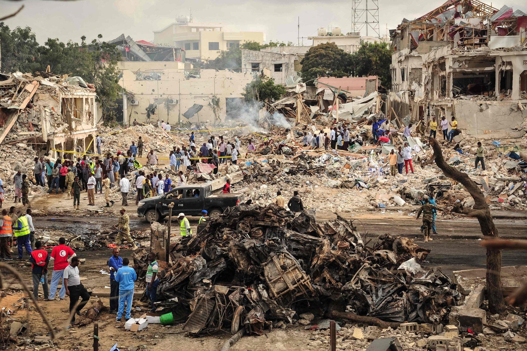 Tarihin en kanlı saldırısı: Somali'de ölü sayısı 300'ü aştı