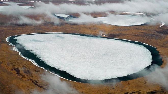Buzullar eriyor on binlerce yıllık virüsler uyanıyor