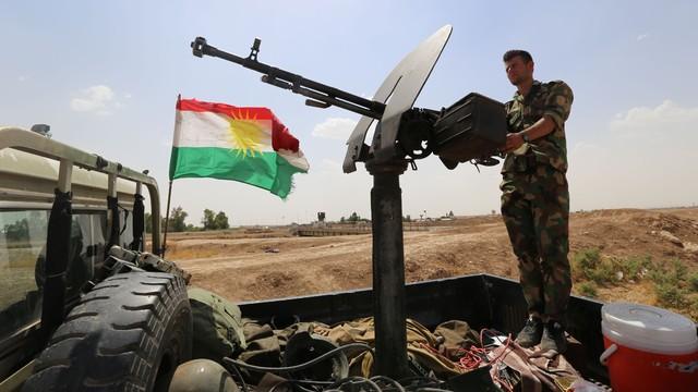 Peşmerge güçleri '2014 sınırlarına çekildi'