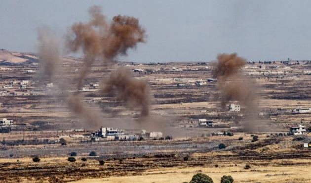 Golan'da gerginlik: İsrail tankları Suriye'yi vurdu