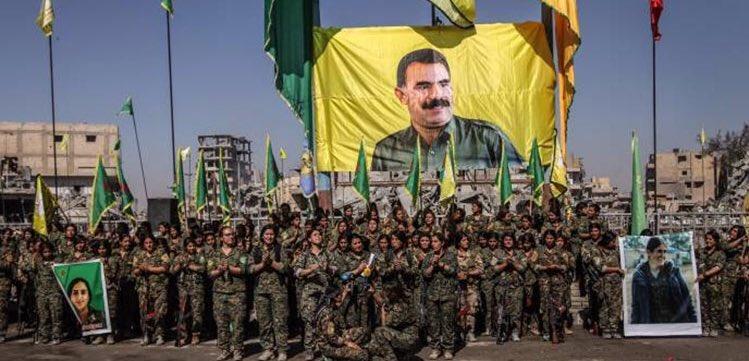 Pentagon'dan Öcalan posterine 'destek'