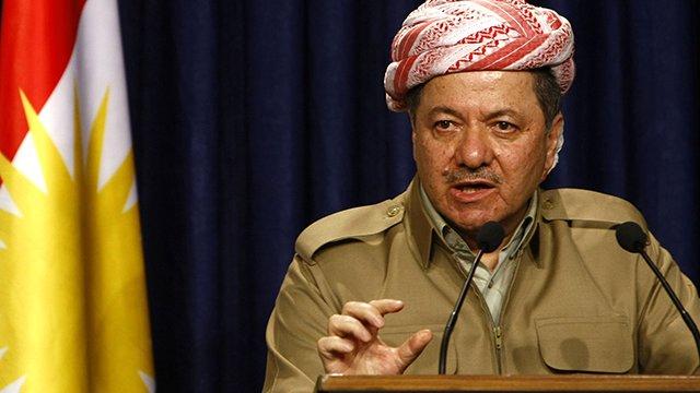 Barzani'den Batı'da yaşayan Kürtlere çağrı: Gösteriler düzenleyin