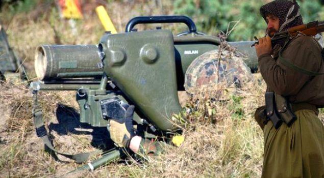 Peşmerge Almanya'nın eğitim füzelerini mi kullandı?