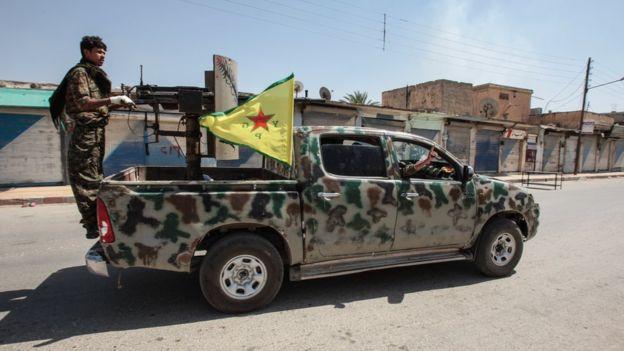 PKK 'Fırat Kalkanı bölgesine' sızmaya çalıştı
